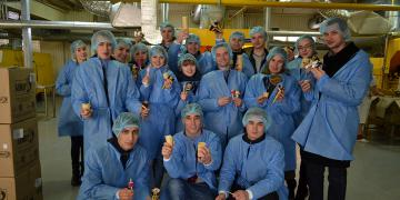 Excursion to Zhytomyr dairy factory Rud